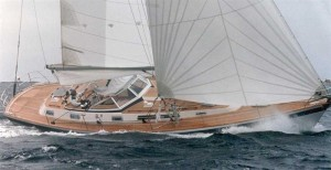Hallberg Rassy 45 perito nautico