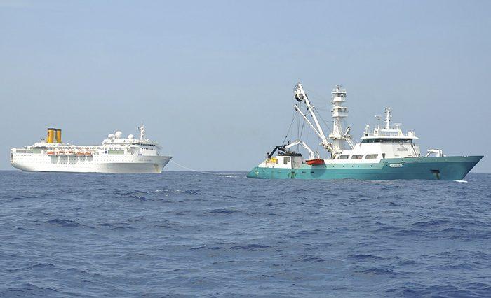 perizie nautiche traino nave