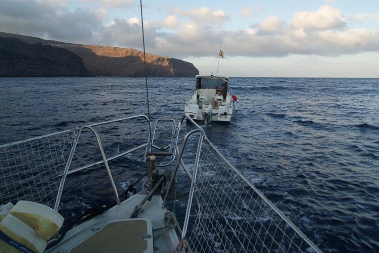 perizie nautiche traino barca a vela