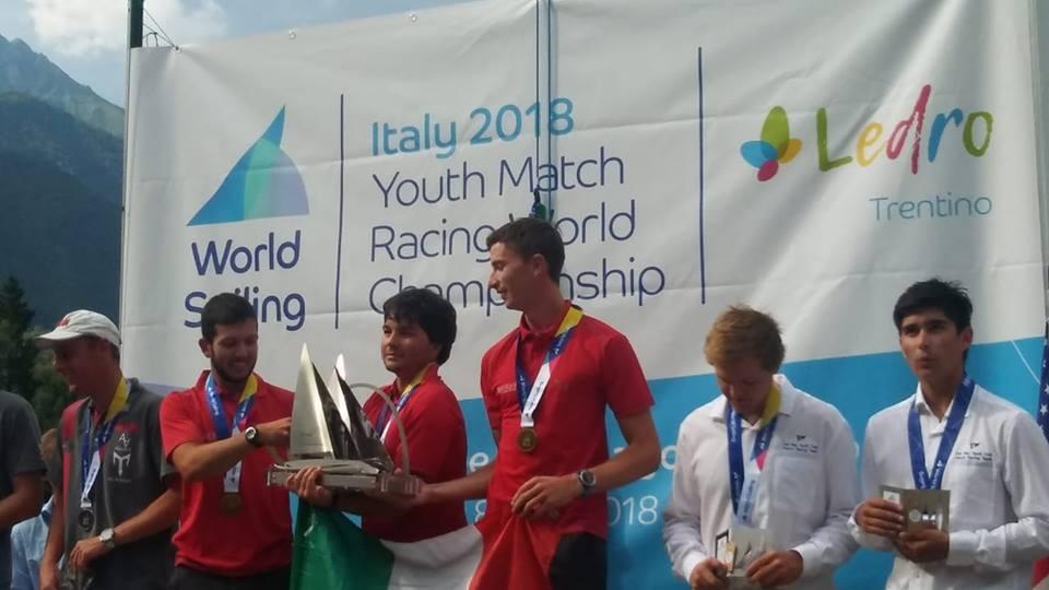Ettore Botticini Campione del Mondo Match Race 2018